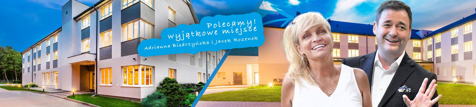 Leśna Polana polecamy – Adrianna Biedrzyńska i Jacek Rozenek! Wyjątkowe miejsce