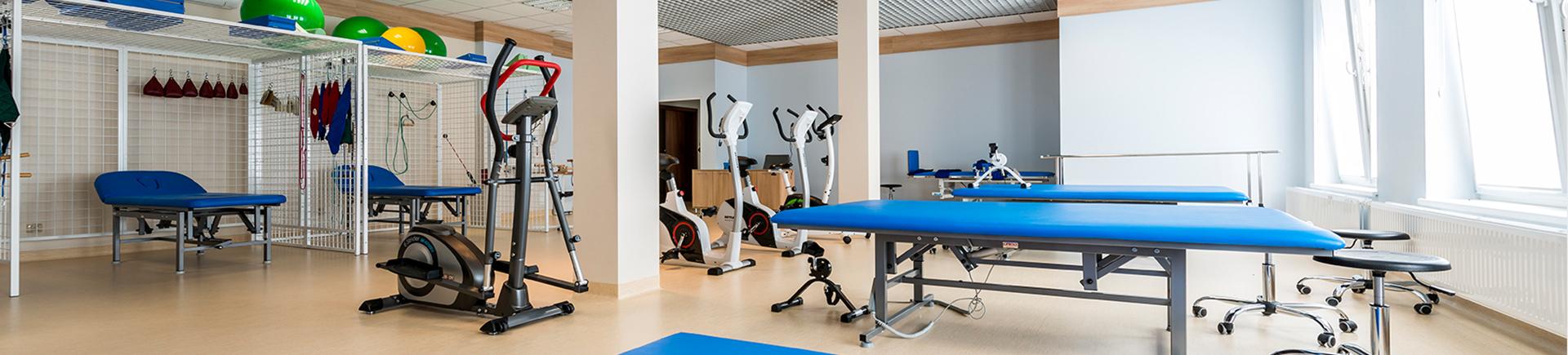 Nowoczesna i dobrze wyposażona sala ćwiczeń