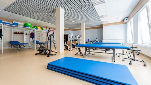 klimatisierten Fitnessraum
